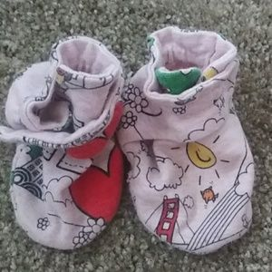Mr.Men Little Miss for the GAP Booties